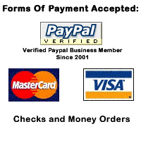 Pete99 Hosting accepts Paypal, Visa, MasterCard, Google Checkout, Checks and Money Orders!